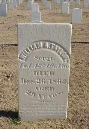 TAYLOR (VETERAN UNION), WILLIAM A - Pulaski County, Arkansas | WILLIAM A TAYLOR (VETERAN UNION) - Arkansas Gravestone Photos