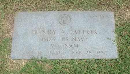 TAYLOR (VETERAN VIET), HENRY ANDERSON - Pulaski County, Arkansas | HENRY ANDERSON TAYLOR (VETERAN VIET) - Arkansas Gravestone Photos