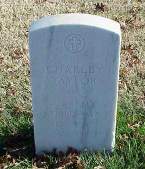 TAYLOR (VETERAN WWI), CHARLEY - Pulaski County, Arkansas | CHARLEY TAYLOR (VETERAN WWI) - Arkansas Gravestone Photos