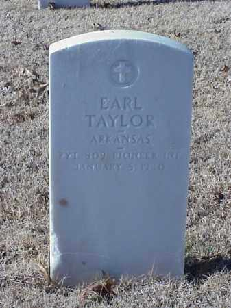 TAYLOR (VETERAN WWI), EARL - Pulaski County, Arkansas | EARL TAYLOR (VETERAN WWI) - Arkansas Gravestone Photos