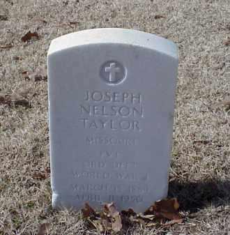 TAYLOR (VETERAN WWI), JOSEPH NELSON - Pulaski County, Arkansas | JOSEPH NELSON TAYLOR (VETERAN WWI) - Arkansas Gravestone Photos