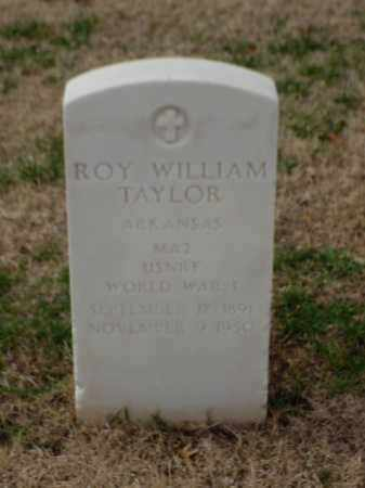 TAYLOR (VETERAN WWI), ROY WILLIAM - Pulaski County, Arkansas | ROY WILLIAM TAYLOR (VETERAN WWI) - Arkansas Gravestone Photos