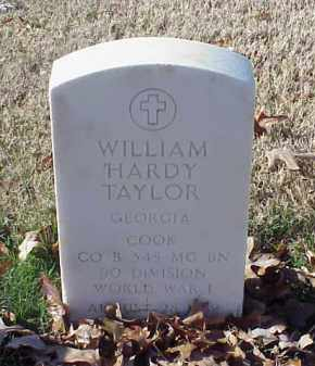 TAYLOR (VETERAN WWI), WILLIAM HARDY - Pulaski County, Arkansas | WILLIAM HARDY TAYLOR (VETERAN WWI) - Arkansas Gravestone Photos