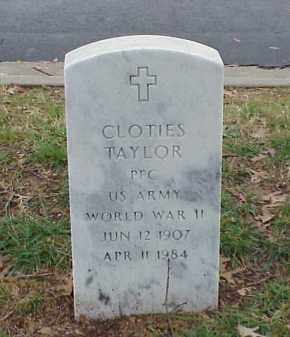 TAYLOR (VETERAN WWII), CLOTIES - Pulaski County, Arkansas | CLOTIES TAYLOR (VETERAN WWII) - Arkansas Gravestone Photos