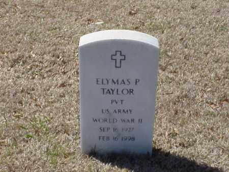 TAYLOR (VETERAN WWII), ELYMAS P - Pulaski County, Arkansas | ELYMAS P TAYLOR (VETERAN WWII) - Arkansas Gravestone Photos