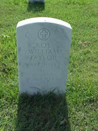 TAYLOR (VETERAN WWII), ROY WILLIAM - Pulaski County, Arkansas | ROY WILLIAM TAYLOR (VETERAN WWII) - Arkansas Gravestone Photos