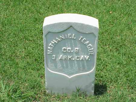 TEAGUE (VETERAN UNION), NATHANIEL - Pulaski County, Arkansas | NATHANIEL TEAGUE (VETERAN UNION) - Arkansas Gravestone Photos
