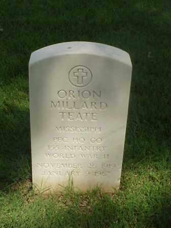 TEATE (VETERAN WWII), ORION MILLARD - Pulaski County, Arkansas | ORION MILLARD TEATE (VETERAN WWII) - Arkansas Gravestone Photos