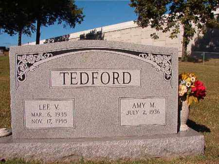 TEDFORD, LEE V - Pulaski County, Arkansas | LEE V TEDFORD - Arkansas Gravestone Photos