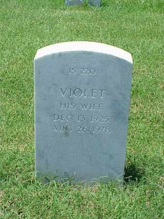 TEED, VIOLET - Pulaski County, Arkansas | VIOLET TEED - Arkansas Gravestone Photos