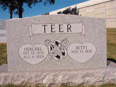 TEER, HERCHEL - Pulaski County, Arkansas | HERCHEL TEER - Arkansas Gravestone Photos