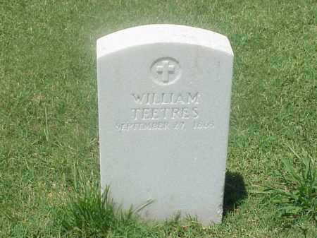 TEETRES (VETERAN UNION), WILLIAM - Pulaski County, Arkansas | WILLIAM TEETRES (VETERAN UNION) - Arkansas Gravestone Photos