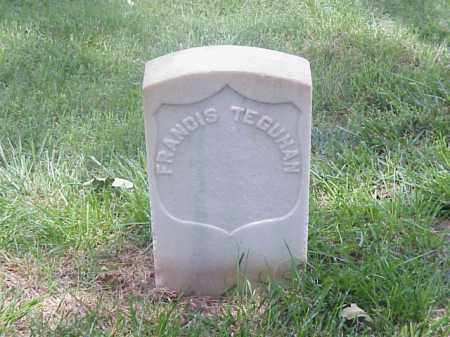 TEGUHAN (VETERAN UNION), FRANCIS - Pulaski County, Arkansas | FRANCIS TEGUHAN (VETERAN UNION) - Arkansas Gravestone Photos