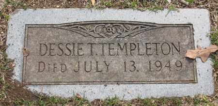THOMAS TEMPLETON, DESSIE - Pulaski County, Arkansas | DESSIE THOMAS TEMPLETON - Arkansas Gravestone Photos