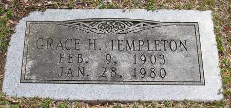 HOLLIS TEMPLETON, GRACE - Pulaski County, Arkansas | GRACE HOLLIS TEMPLETON - Arkansas Gravestone Photos