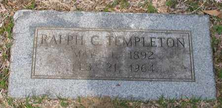 TEMPLETON, RALPH CLIFTON - Pulaski County, Arkansas | RALPH CLIFTON TEMPLETON - Arkansas Gravestone Photos