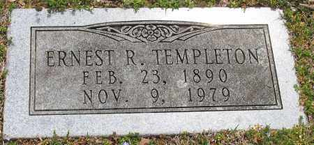 TEMPLETON (VETERAN WWI), ERNEST R. - Pulaski County, Arkansas | ERNEST R. TEMPLETON (VETERAN WWI) - Arkansas Gravestone Photos