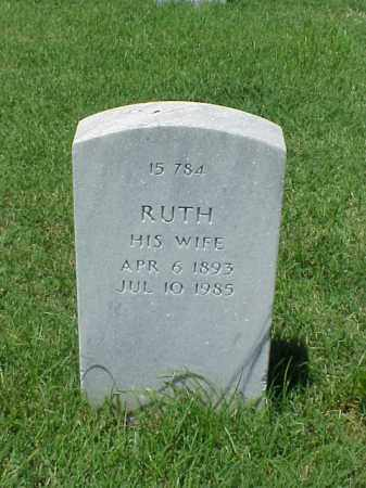 TENNEY, RUTH - Pulaski County, Arkansas | RUTH TENNEY - Arkansas Gravestone Photos