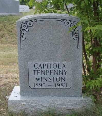 WINSTON TENPENY, CAPITOLA - Pulaski County, Arkansas | CAPITOLA WINSTON TENPENY - Arkansas Gravestone Photos