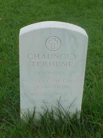 TERHUNE (VETERAN WWI), CHAUNCEY - Pulaski County, Arkansas | CHAUNCEY TERHUNE (VETERAN WWI) - Arkansas Gravestone Photos