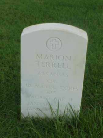 TERRELL (VETERAN WWII), MARION - Pulaski County, Arkansas | MARION TERRELL (VETERAN WWII) - Arkansas Gravestone Photos