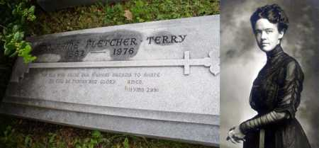 FLETCHER TERRY (FAMOUS), ADOLPHINE - Pulaski County, Arkansas | ADOLPHINE FLETCHER TERRY (FAMOUS) - Arkansas Gravestone Photos