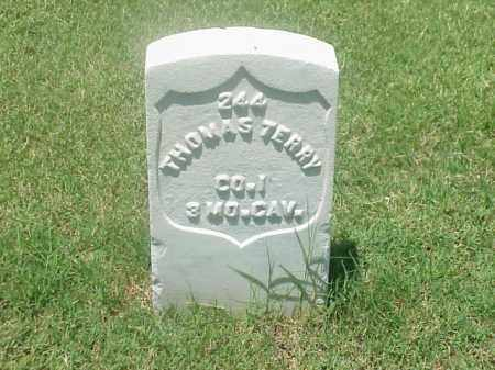 TERRY (VETERAN 1812), THOMAS - Pulaski County, Arkansas | THOMAS TERRY (VETERAN 1812) - Arkansas Gravestone Photos