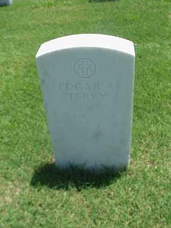 TERRY (VETERAN 2 WARS), EDGAR A - Pulaski County, Arkansas | EDGAR A TERRY (VETERAN 2 WARS) - Arkansas Gravestone Photos