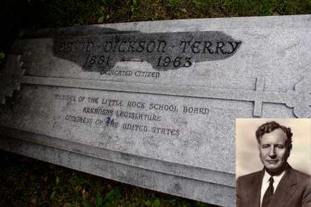 TERRY (FAMOUS), DAVID DICKSON - Pulaski County, Arkansas | DAVID DICKSON TERRY (FAMOUS) - Arkansas Gravestone Photos