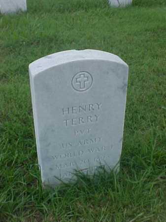 TERRY (VETERAN WWI), HENRY - Pulaski County, Arkansas | HENRY TERRY (VETERAN WWI) - Arkansas Gravestone Photos