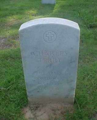 TERRY (VETERAN WWII), CHARLES - Pulaski County, Arkansas | CHARLES TERRY (VETERAN WWII) - Arkansas Gravestone Photos