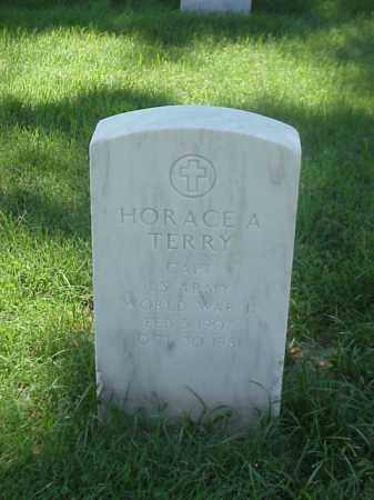 TERRY (VETERAN WWII), HORACE A - Pulaski County, Arkansas | HORACE A TERRY (VETERAN WWII) - Arkansas Gravestone Photos
