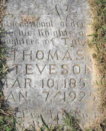 STEVENSON, THOMAS - Pulaski County, Arkansas | THOMAS STEVENSON - Arkansas Gravestone Photos