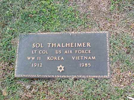 THALHEIMER (VETERAN 3 WARS), SOL - Pulaski County, Arkansas | SOL THALHEIMER (VETERAN 3 WARS) - Arkansas Gravestone Photos