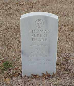 THARP  (VETERAN WWII), THOMAS ALBERT - Pulaski County, Arkansas | THOMAS ALBERT THARP  (VETERAN WWII) - Arkansas Gravestone Photos