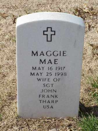 THARP, MAGGIE MAE - Pulaski County, Arkansas | MAGGIE MAE THARP - Arkansas Gravestone Photos