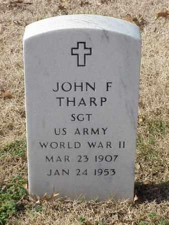 THARP (VETERAN WWII), JOHN FRANK - Pulaski County, Arkansas | JOHN FRANK THARP (VETERAN WWII) - Arkansas Gravestone Photos
