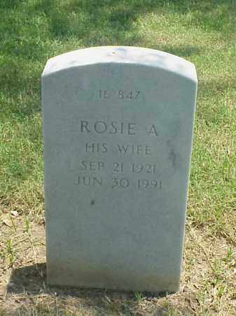 THATCHER, ROSIE A - Pulaski County, Arkansas | ROSIE A THATCHER - Arkansas Gravestone Photos