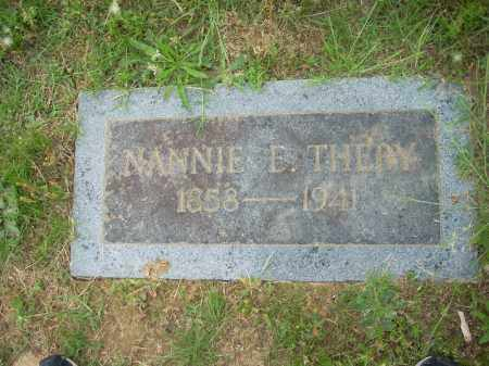 THEBY, NANNIE ELIZABETH - Pulaski County, Arkansas | NANNIE ELIZABETH THEBY - Arkansas Gravestone Photos