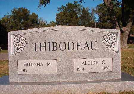 THIBODEAU, ALCIDE G - Pulaski County, Arkansas | ALCIDE G THIBODEAU - Arkansas Gravestone Photos