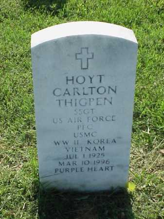 THIGPEN (VETERAN 3 WARS), HOYT CARLTON - Pulaski County, Arkansas | HOYT CARLTON THIGPEN (VETERAN 3 WARS) - Arkansas Gravestone Photos