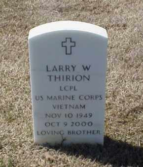 THIRION (VETERAN VIET), LARRY W - Pulaski County, Arkansas | LARRY W THIRION (VETERAN VIET) - Arkansas Gravestone Photos