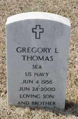THOMAS  (VETERAN), GREGORY L - Pulaski County, Arkansas | GREGORY L THOMAS  (VETERAN) - Arkansas Gravestone Photos