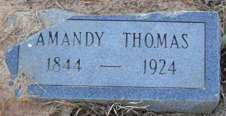 THOMAS, AMANDY - Pulaski County, Arkansas | AMANDY THOMAS - Arkansas Gravestone Photos