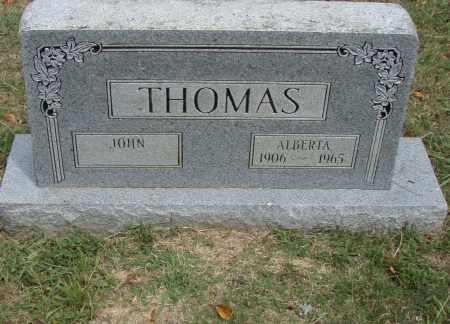 THOMAS, ALBERTA - Pulaski County, Arkansas | ALBERTA THOMAS - Arkansas Gravestone Photos