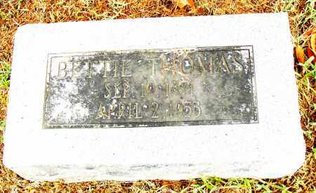 THOMAS, BETTIE - Pulaski County, Arkansas | BETTIE THOMAS - Arkansas Gravestone Photos