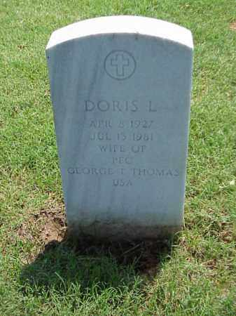 THOMAS, DORIS L - Pulaski County, Arkansas | DORIS L THOMAS - Arkansas Gravestone Photos
