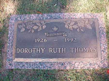 THOMAS, DOROTHY RUTH - Pulaski County, Arkansas | DOROTHY RUTH THOMAS - Arkansas Gravestone Photos