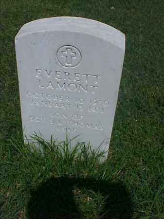 THOMAS, EVERETT LAMONT - Pulaski County, Arkansas | EVERETT LAMONT THOMAS - Arkansas Gravestone Photos