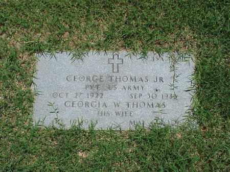 THOMAS, GEORGIA W - Pulaski County, Arkansas | GEORGIA W THOMAS - Arkansas Gravestone Photos